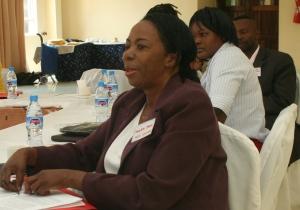 Mirriam Moyo President National Olympic Committee of Zambia