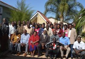 Delegates at the Safeguarding in Sport Workshop
