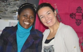Linda Sletegen Jacobsen (2010-2011) and Matilda Mwamba (2011-2012)