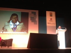 Key Note address on Empowering Girls and Women in Sport