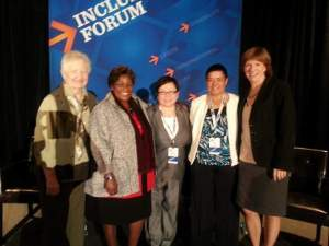 IWG Panel at NCAA Inclusion Forum