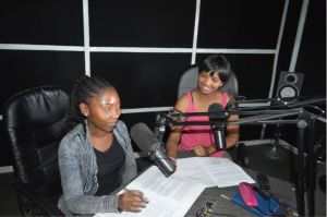 Mofu and Maketo at Metro FM - UNDSDP